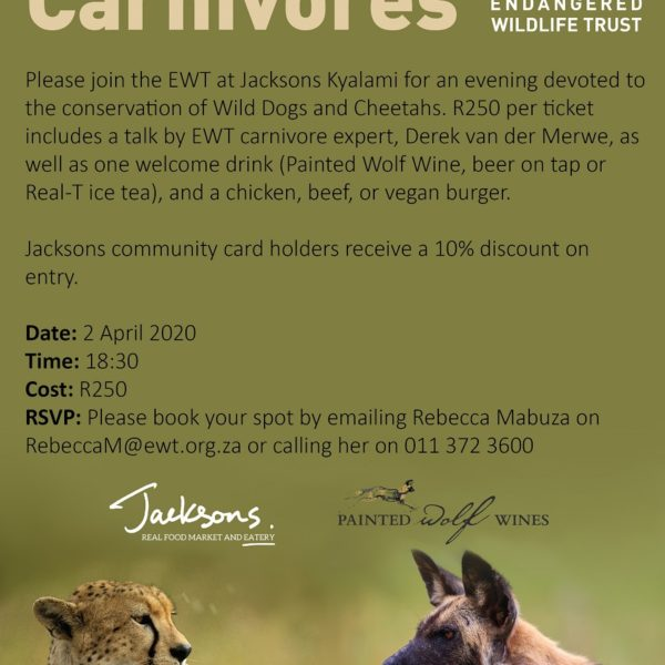 Conserving Carnivores event Jacksons 02.04.2020 resize
